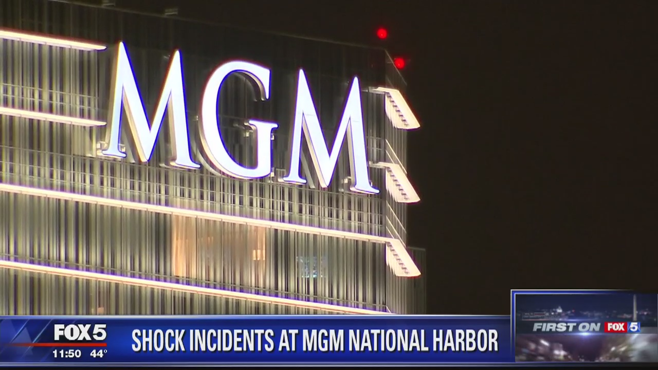 Another shock incident at MGM National Harbor | FOX 5 DC