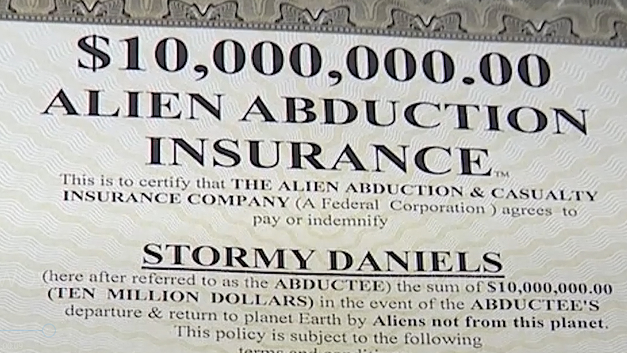 An Alien Abduction Insurance Policy