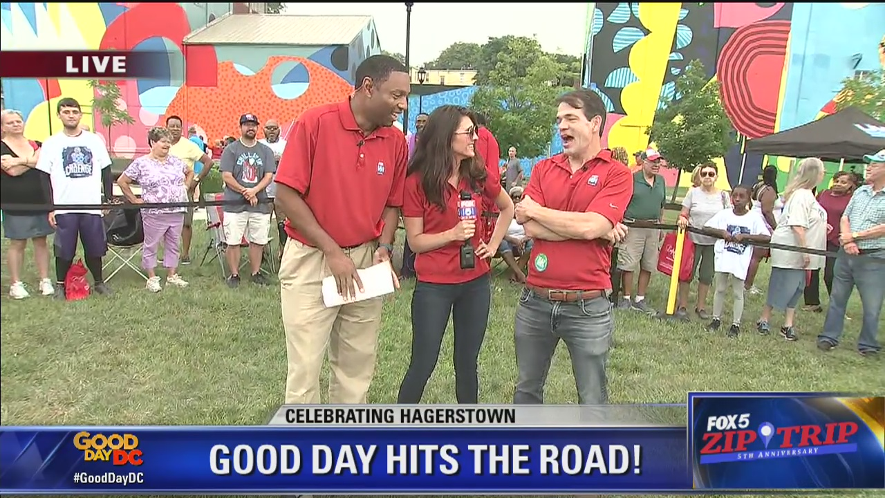 Hagerstown | Zip Trip: GoodDayDC Hits The Road!