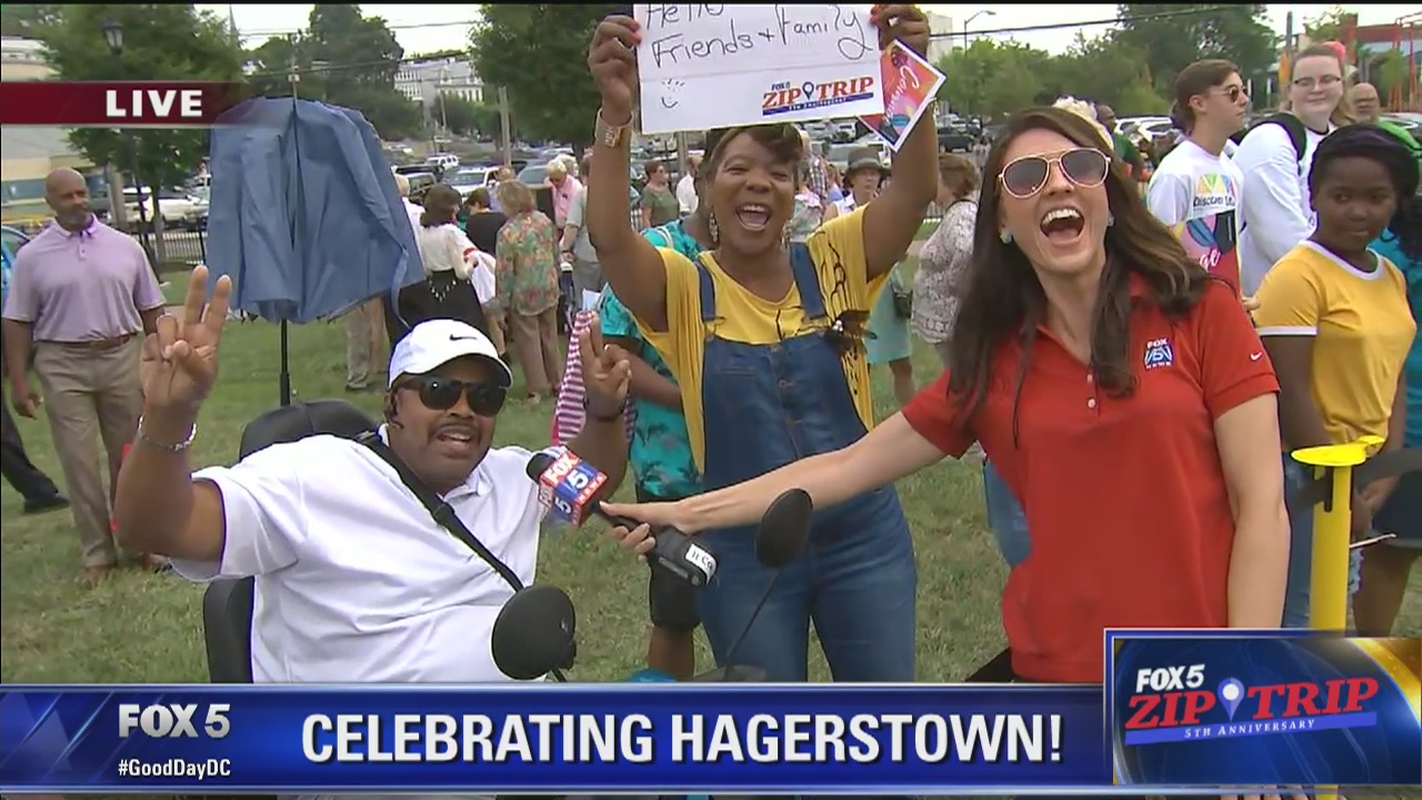 Hagerstown | Zip Trip: Checking in with the Crowd!