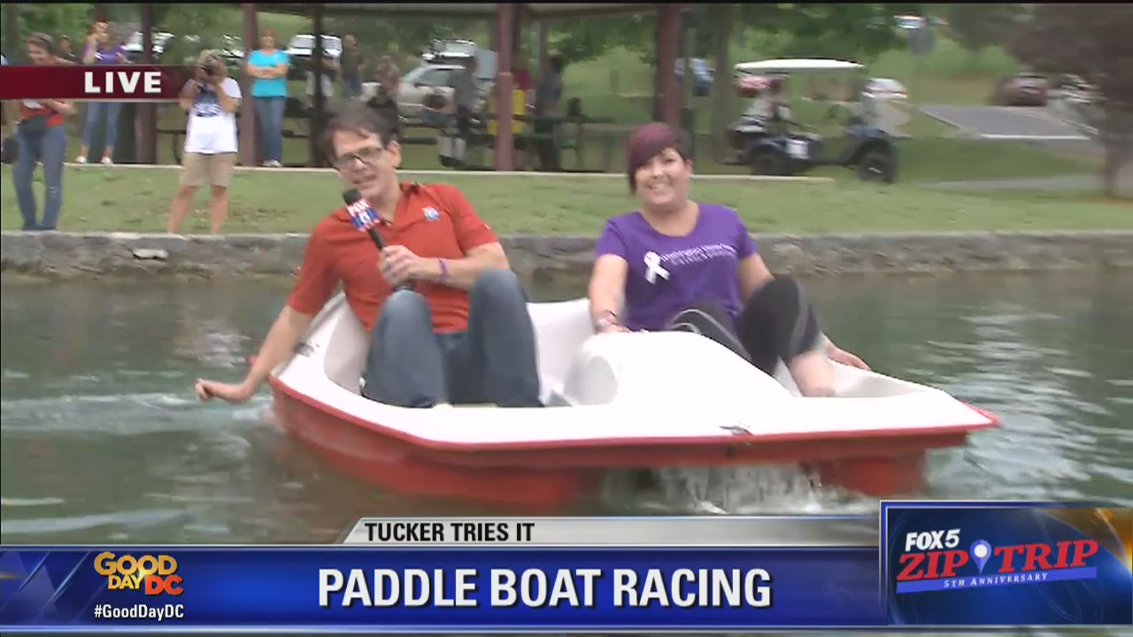 Hagerstown | Zip Trip: Tucker Tries It Paddle Boat Race!