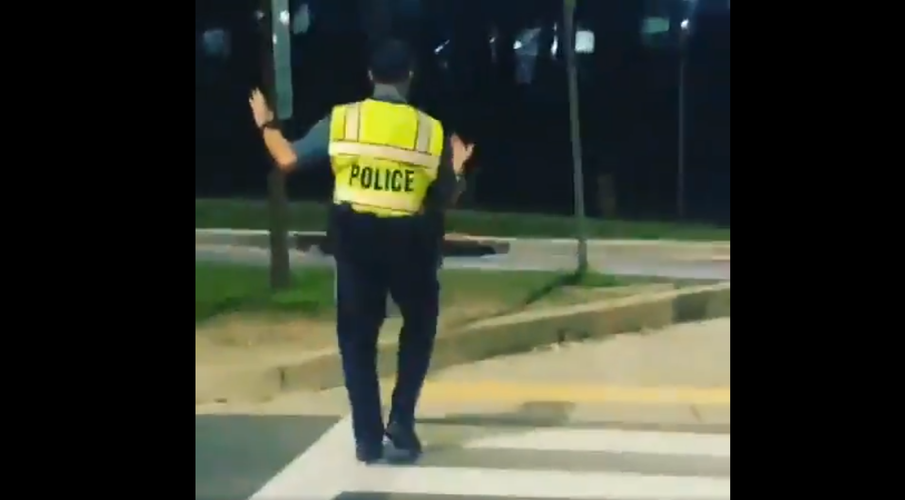 Howard County cop shows off his salsa dancing moves in