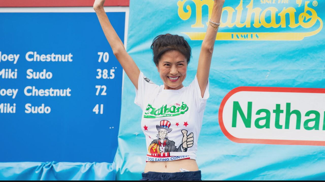 Juliet Lee, record-setting competitive eater from Maryland
